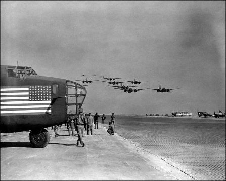 a-20-havoc-fly-by-w-b-24-in-pacific-wwii-photo-print-6