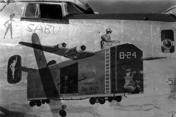 B-24_Liberator_bomber_Nose_Art_494th_Bomb_Group_3