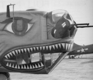 Consolidated Tail Turret mounted in B-24 nose[1]